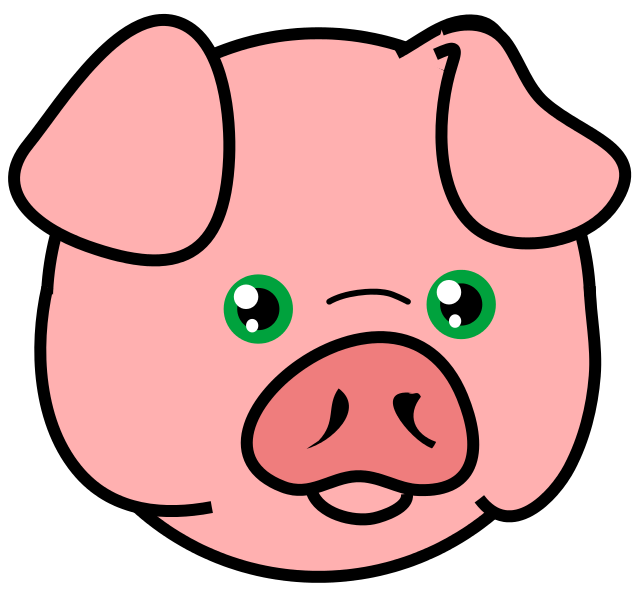 more pig face clip art clipart panda free clipart images rh clipartpanda com cartoon pig face clipart happy pig face clip art