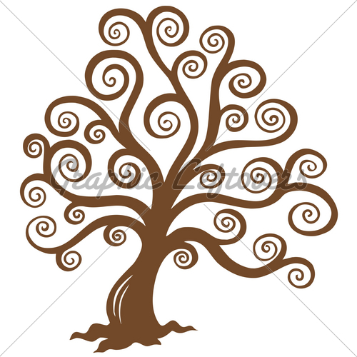 oak tree silhouette clip art. | Clipart Panda - Free Clipart Images