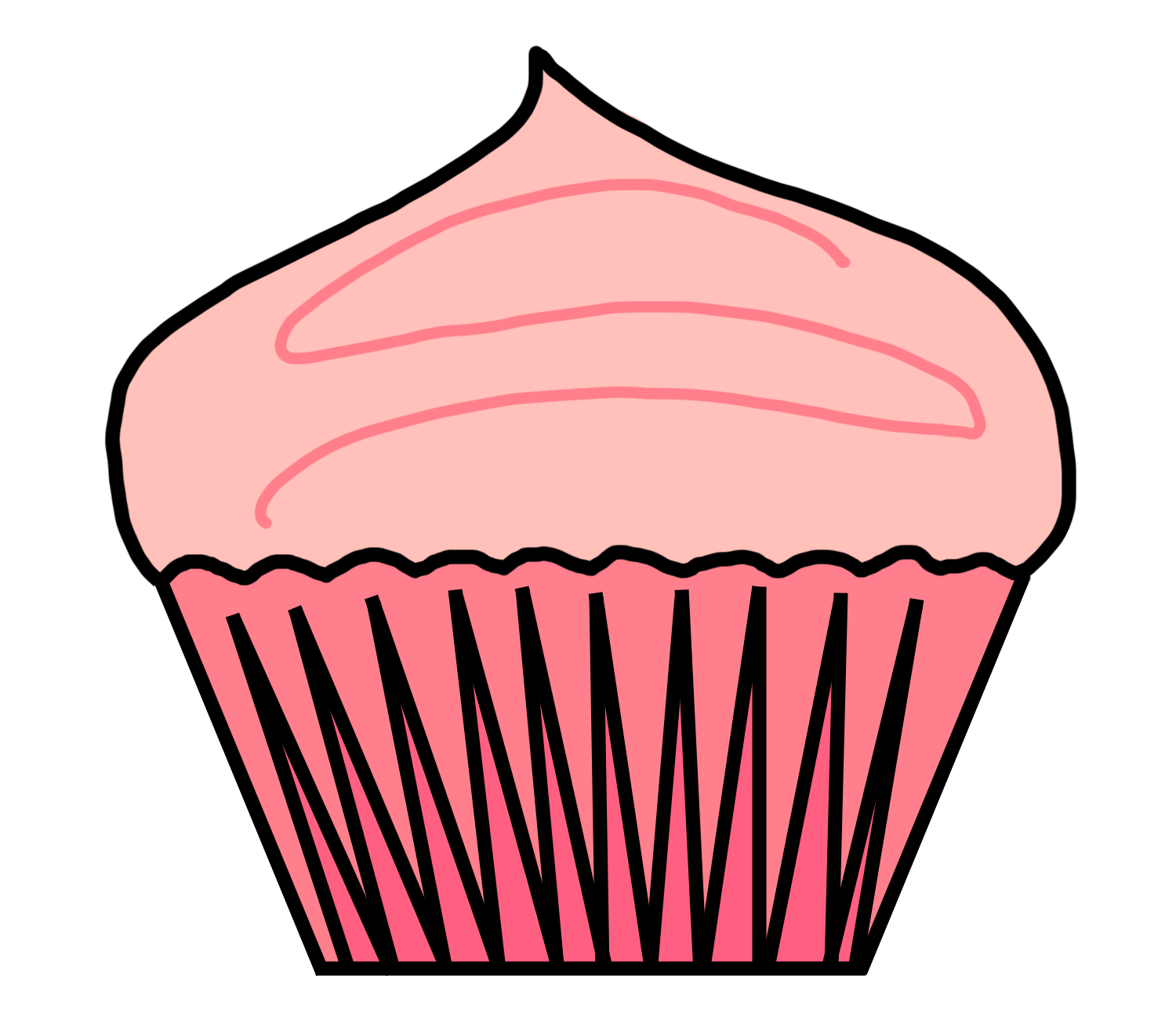 Cupcake Clipart no Background Cupcake Clipart Portal