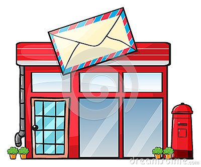 Post Office Building Clipart | Clipart Panda - Free ...
