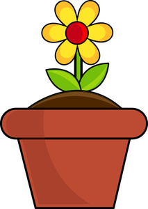 flower pot clipart clipart panda free clipart images rh clipartpanda com flower pot clip art free flower pot clip art images