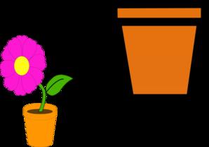 Flower pot clip art free | Clipart Panda - Free Clipart Images
