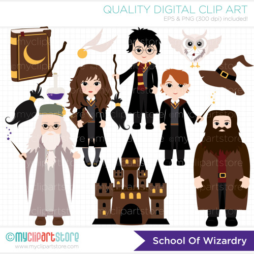 Wizards Clip Art / Digital | Clipart Panda - Free Clipart Images
