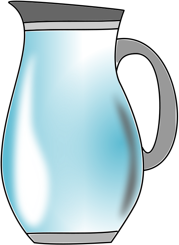 water pitcher clipart
