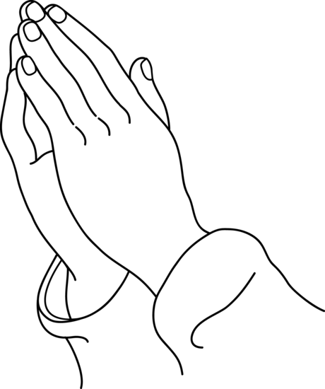Prayer Clipart Black And White Clipart Panda Free Clipart Images