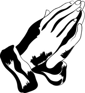 Praying Hands Clip Art Lady Praying | Clipart Panda - Free Clipart ...