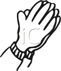 Black Praying Hands Clipart | Clipart Panda - Free Clipart Images