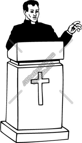 Nice Preacher Clipart