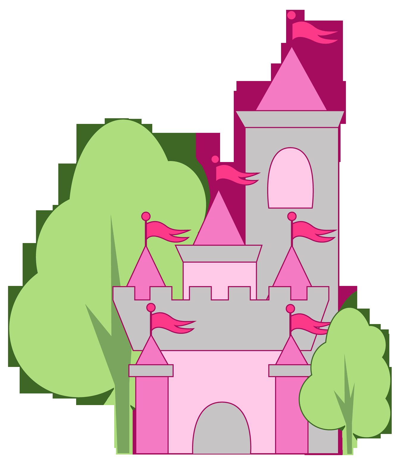 free disney princess castle clipart - photo #28