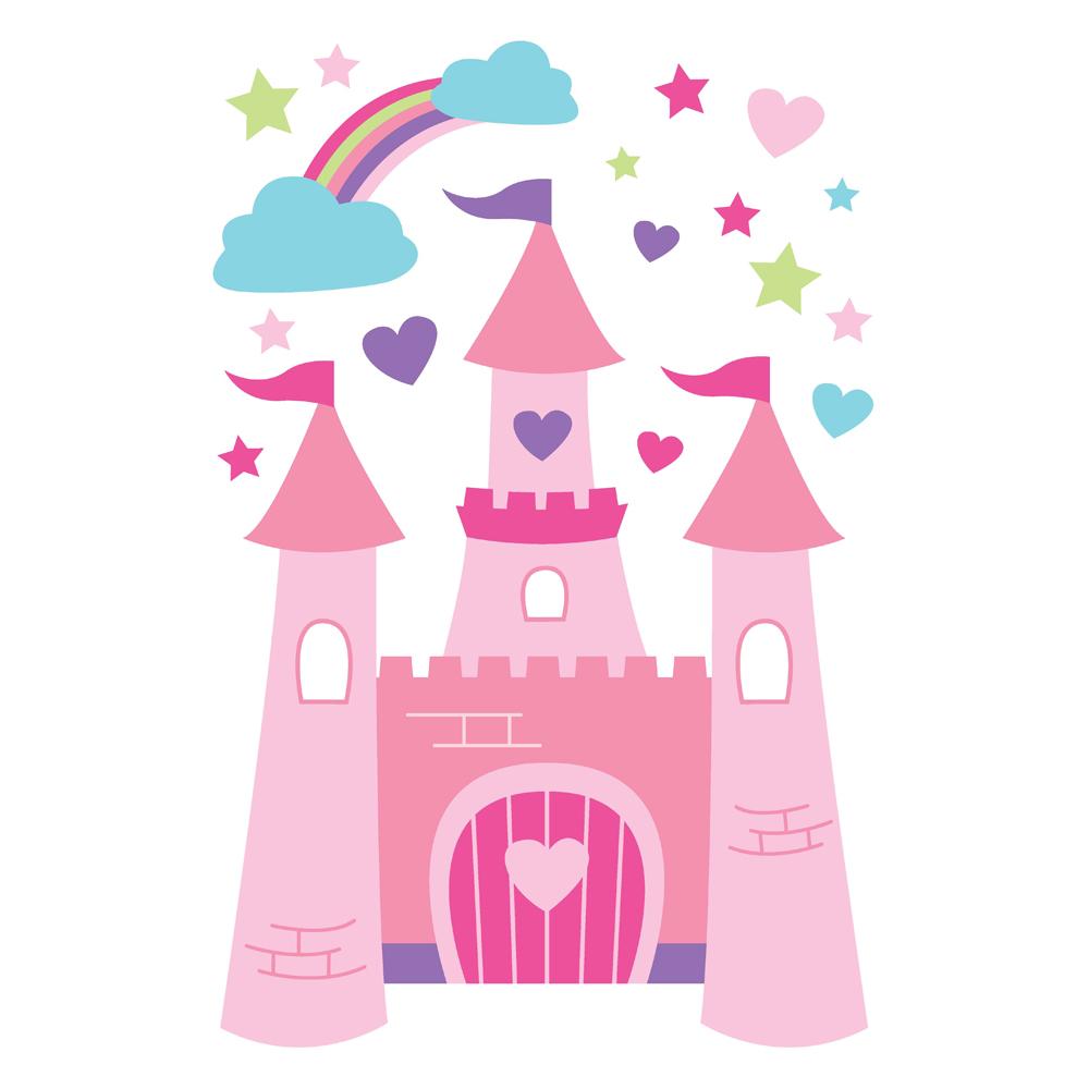 Pink Princess Castle Clipart | Clipart Panda - Free Clipart Images