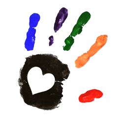 Handprint Heart Clipart Handprint Heart Clipar...