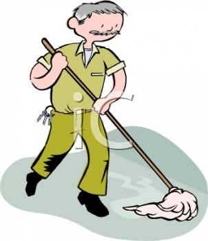 Janitor Clip Art | Clipart Panda - Free Clipart Images