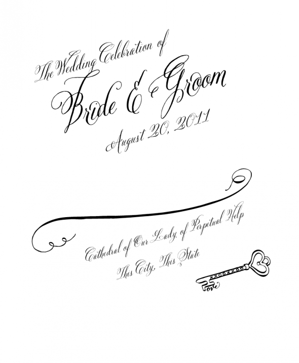 wedding program clipart 1 clipart panda free clipart images