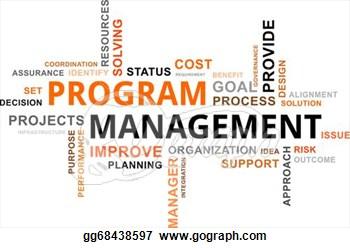 Program Management Clip Art