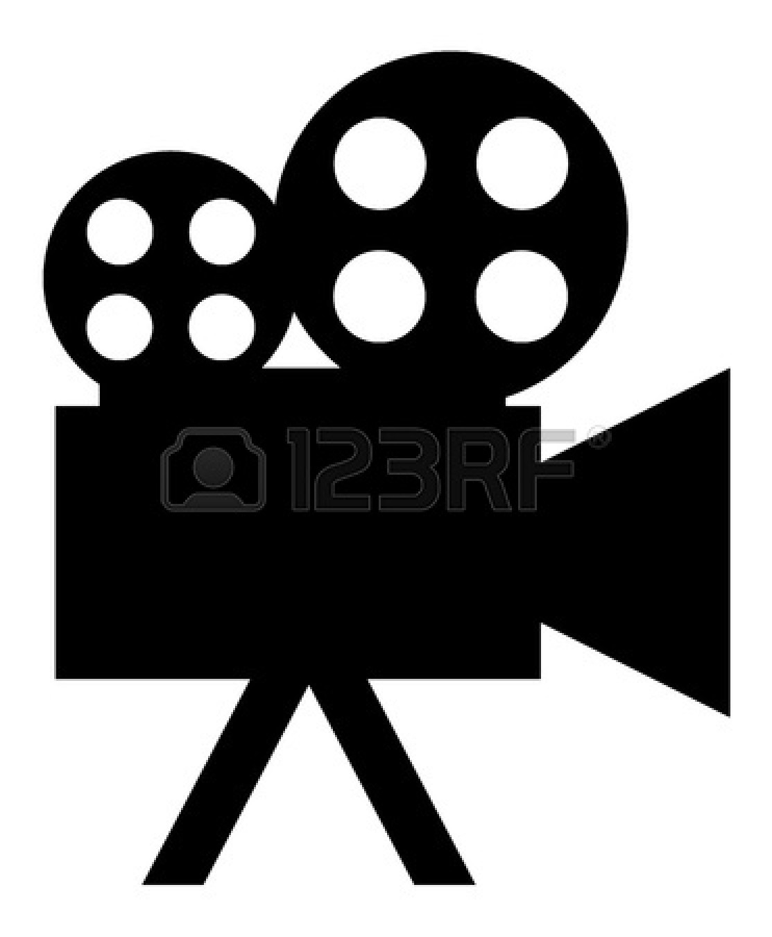Movie theater projector clip art