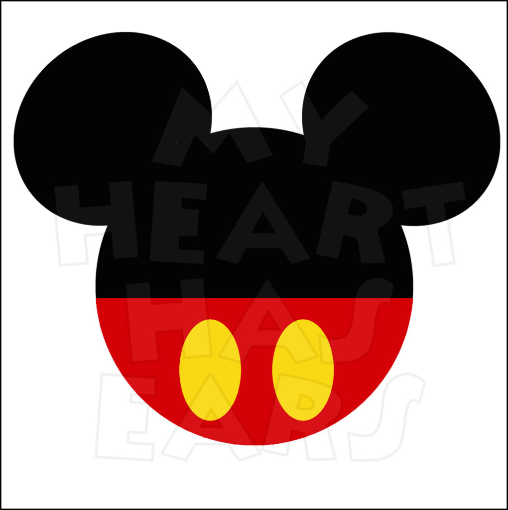 Displaying Images For - Mickey Mouse Head Vector...