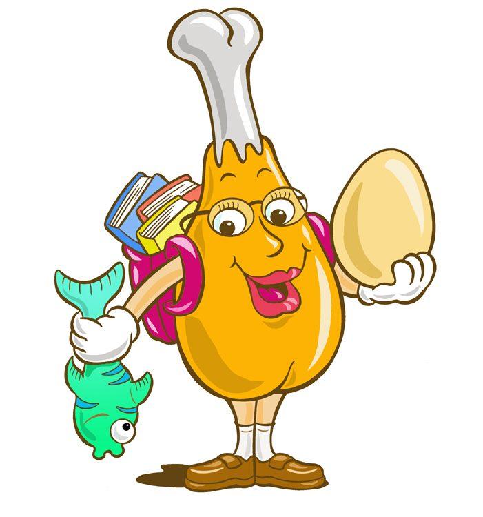 Healthy Food Cartoon Images
