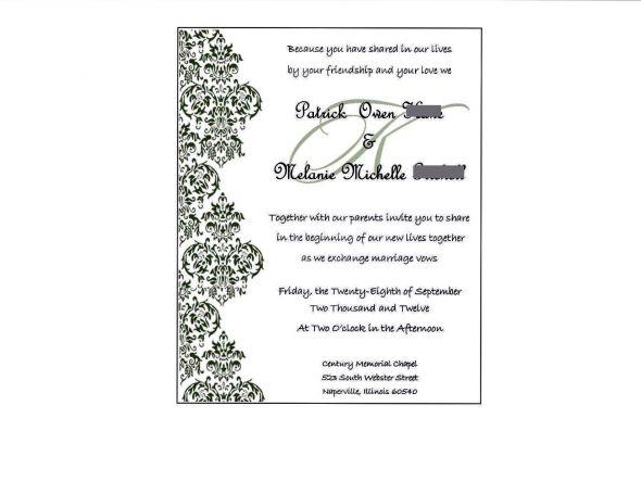 Microsoft Publisher Wedding Invitation Templates: Clipart Panda - Free Clipart