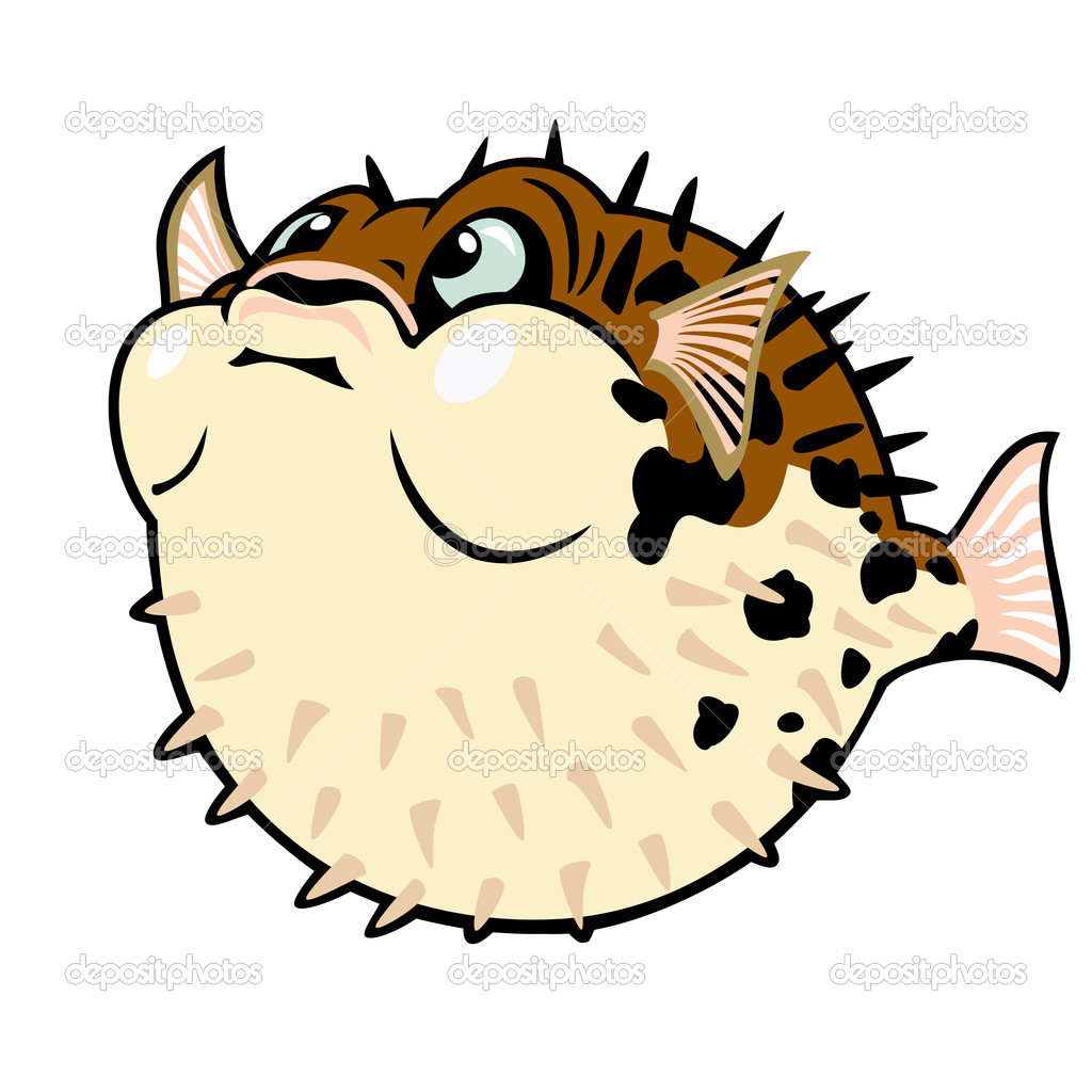 Cute puffer fish clipart clipart panda free clipart images for Clip art fish