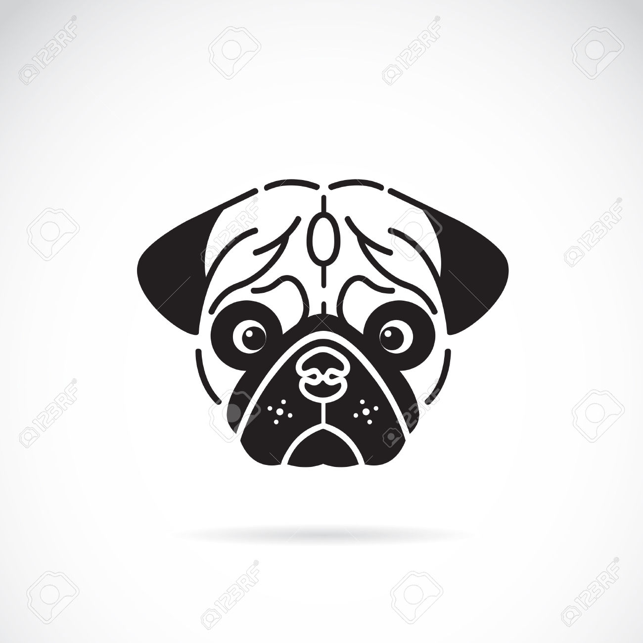Pug Clipart | Clipart Panda - Free Clipart Images
