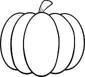 Clip Art Pumpkin Clipart Black And White pumpkin outline clipart black and white panda free