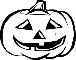 Pumpkin Vine Clipart Black And White | Clipart Panda ...