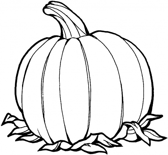 Pumpkin Outline Drawing | Clipart Panda - Free Clipart Images