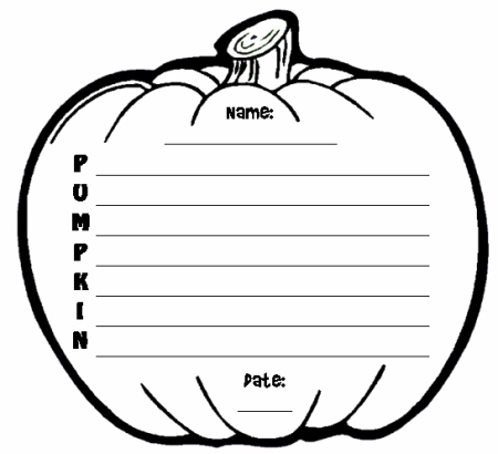 blank pumpkin template - Winkd.co