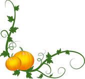 Pumpkin Vine Clip Art | Clipart Panda - Free Clipart Images