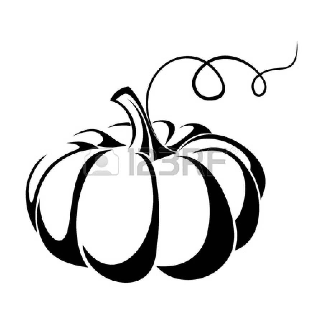 pumpkin : Pumpkin Vector black | Clipart Panda - Free ...