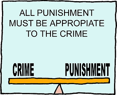 Image result for crime and punishment clipart