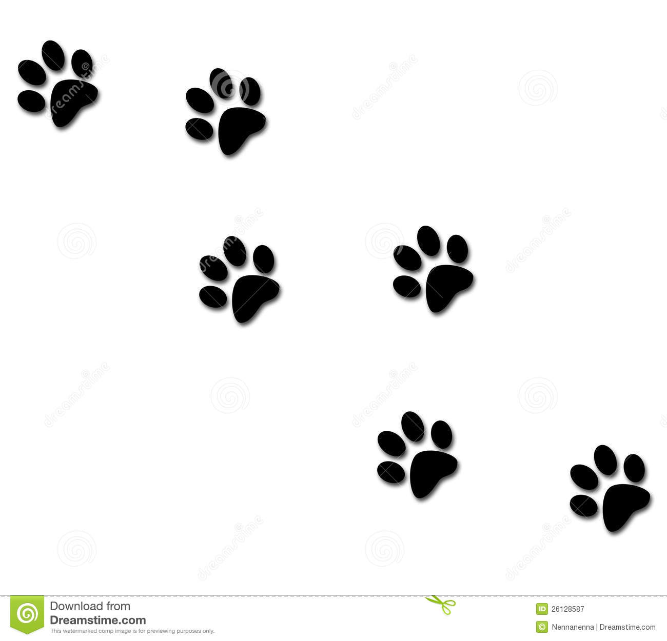 puppy paw clipart clipart panda free clipart images