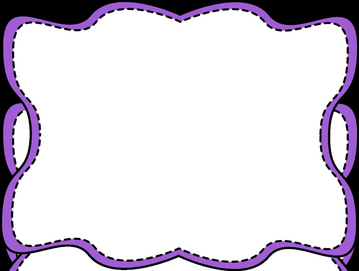 purple clip art border clipart panda free clipart images