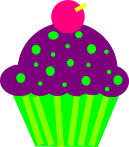 Animated Images Of Pink And Purple Birthday Cake