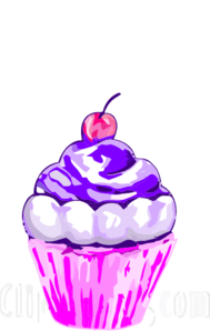 Purple Cupcakes Clipart Clipart Panda Free Clipart Images