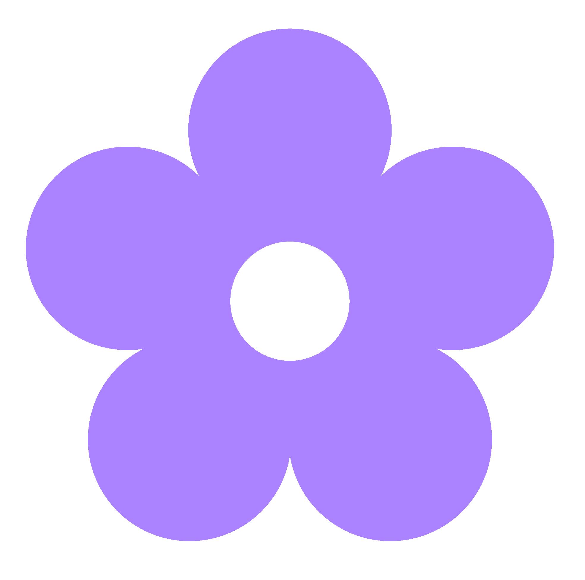 Purple Flower Clip Art | Clipart Panda - Free Clipart Images
