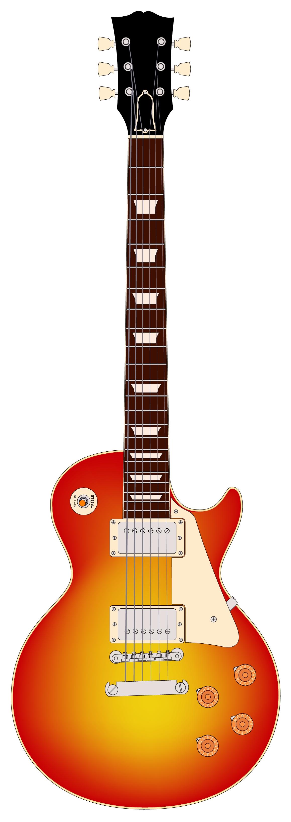 Purple Guitar Clipart