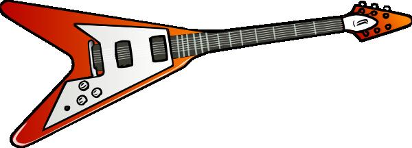 Blue Guitar Clipart