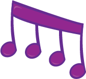 Purple Music Note Clip Art | Clipart Panda - Free Clipart Images