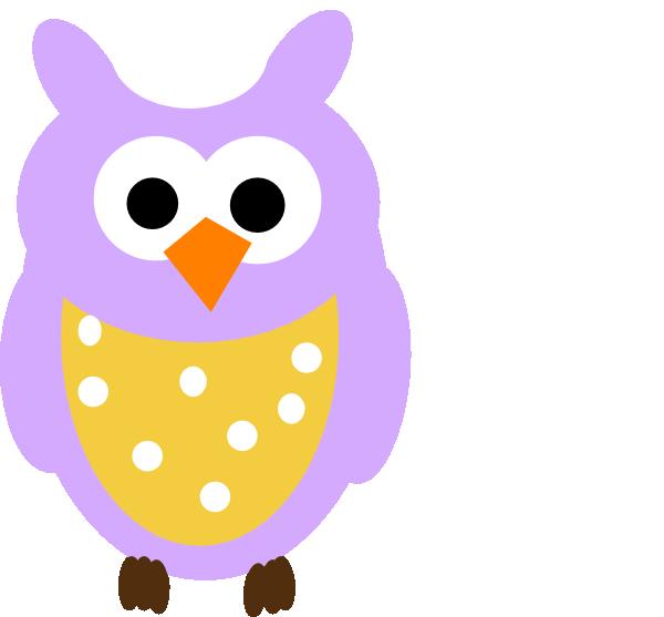 purple owl clipart pur...