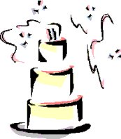 Pink Wedding Cake Clip Art | Clipart Panda - Free Clipart Images