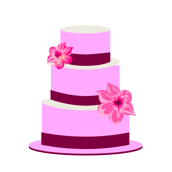 Three Tiered Square Cake Ideas and Designs