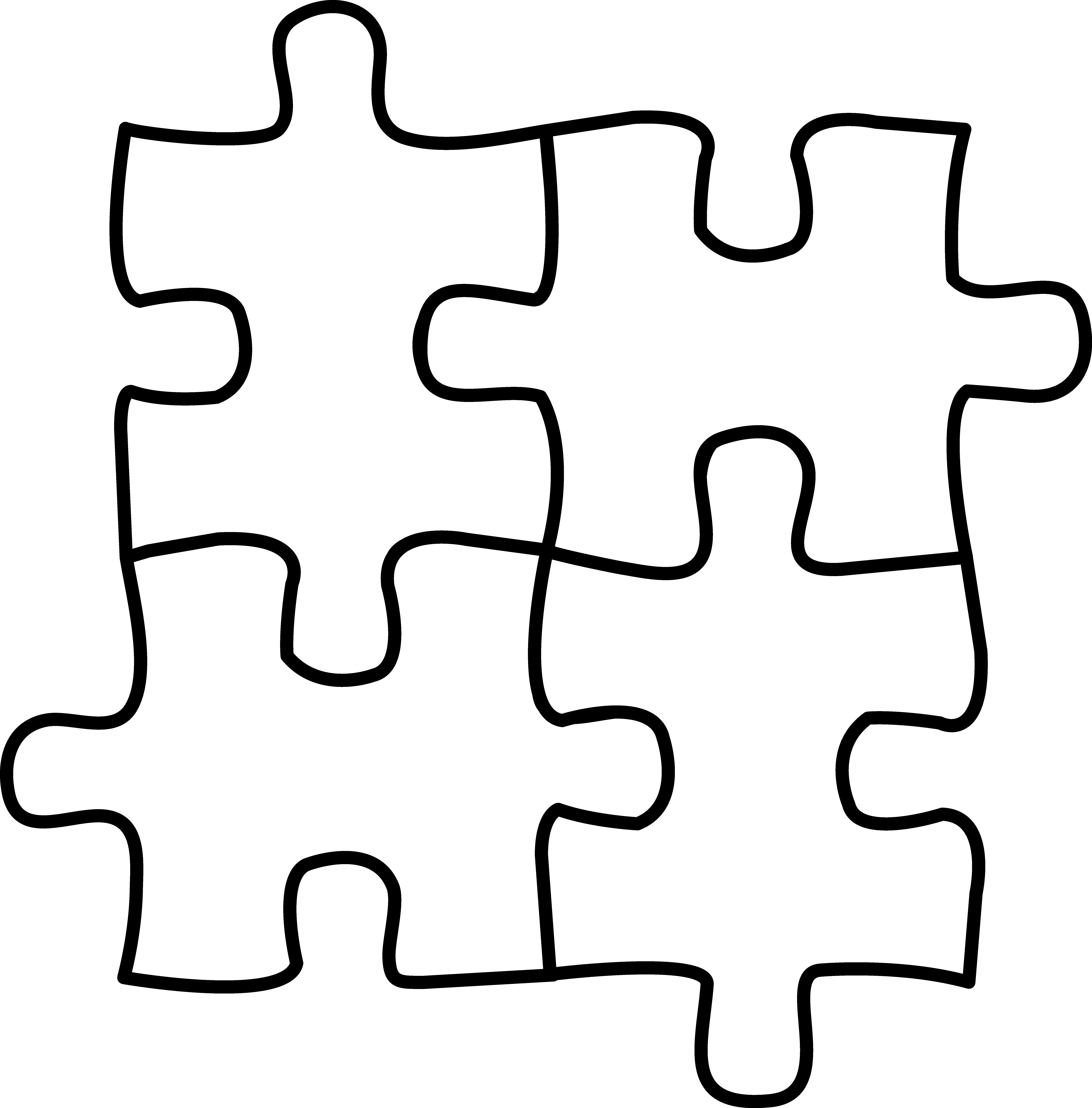 Puzzle clipart images clipart panda free clipart images for Drawing websites no download