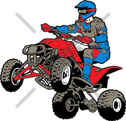 quad bike clipart - photo #10
