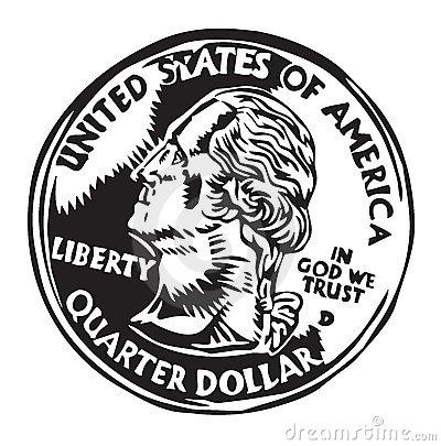 Quarter Clipart... Quarter Clipart