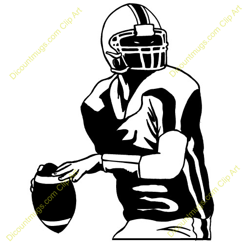 quarterback clipart clipart panda free clipart images rh clipartpanda com  quarterback throwing clipart