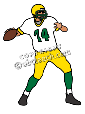 clip art football quarterback clipart panda free clipart images rh clipartpanda com  quarterback throwing clipart