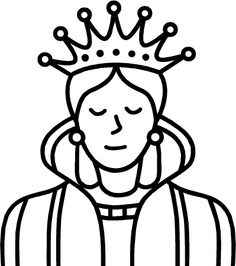 Queen Clipart Black And White Queen Clip Art ...