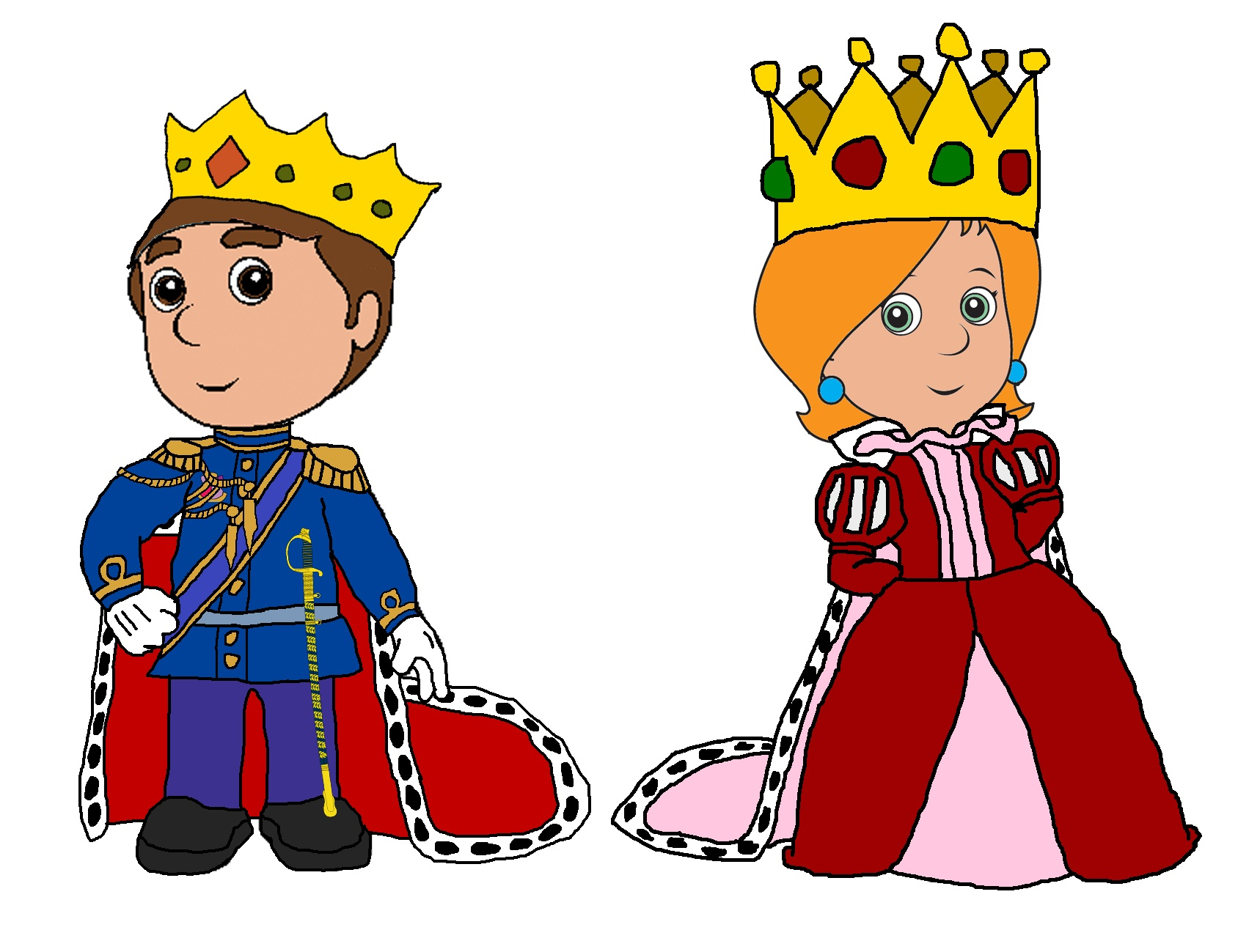 king and queen clip art clipart panda free clipart images rh clipartpanda com black king and queen clipart black king and queen clipart