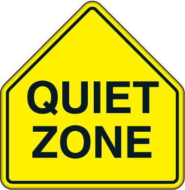 Keep Quiet Sign Cl...